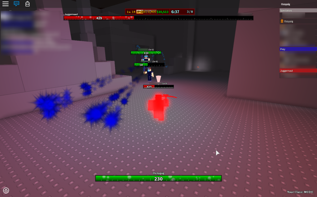 Screenshot of Juggernaut 2 development